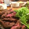 洋食 富士屋本店 - 料理写真:ハラミステーキ280g1400円黒こしょうソース