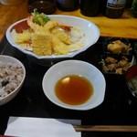 和顔施 - 天ぷら定食 税込850円
