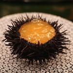 麻布 幸村 - 料理写真:雲丹の伊勢海老のゼリー寄せ