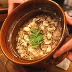 麻布 幸村 - 松茸と栗の炊込みご飯