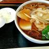 浅野屋 - 料理写真:かしわ南ばんそば 950円