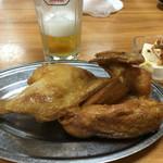 58841356 - 若鶏の半身揚げ