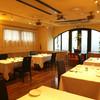 レストランパトリー - 内観写真:夜は落ち着いた雰囲気で…