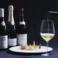 【3800円のボトルワインも】リーズナブルに楽しむドリンク!
