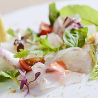 【3種類選べる前菜】旬食材を愉しむ料理