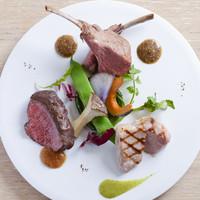 3種類の肉料理盛合せ