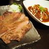 炭火焼肉 にくたらし 熊本上乃裏店 - 料理写真:ランチメニューの牛タン&シチューのセット!