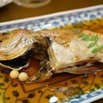 やまいち - 料理写真:のどぐろの煮付け(2000円)