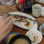 のんのん - (2016/09/21)サンマ焼定食