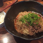 汁なし担担麺専門 キング軒 - 大盛 小ライス 730円