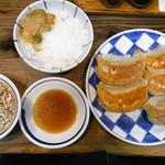 一圓 - 焼餃子+ライス