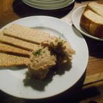Nico - 猪豚のリエット 自家製ライ麦パン付き