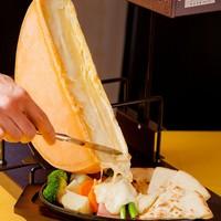 アッツアツとろとろのチーズラクレット