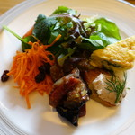 アッラゴッチャ - 前菜盛り合わせ