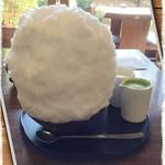 大蔵餅 - 『宇治金時ミルク氷』かき氷File  No.130