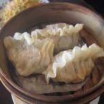 重慶茶樓 - フカヒレ入り餃子