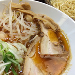 日乃屋 - カミナリつけ麺。メリハリ旨い。
