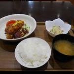 レストラン 抱樸 - 料理写真:油林鶏定食♡