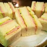丸福珈琲店 - ハムサンドイッチ