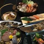 はまゆり - 料理写真:漁師鍋コース