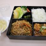 百華扇 - 料理写真:日替わりランチのソース焼きそば720円