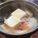 居食家 ヱビス水産 - 湯豆腐