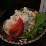 立ち呑み 粋 - 手作りポテトサラダ(380円)