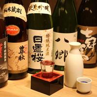 山陰自慢の日本酒を取り揃え!