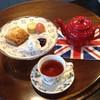 メイフェアアーマーカフェ - 料理写真:スコーンとポットティのクリームティーセット、マカロン付き