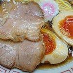 昭和歌謡ショー - 昭和歌謡ショー @庚申塚 中華そば 味がとても濃いチャーシューと半熟玉子