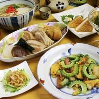 沖縄産の食材を使用