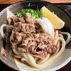 あづまうどん - 料理写真:肉ぶっかけうどん冷小430円(税込)