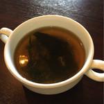 洋食屋クローバー - コンソメスープ