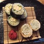 九つ井 - そば寿司 600円(税込)