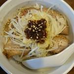 花畑 - 料理写真:チャーシュー丼セット ニンニク醤油ver.