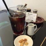 和 - 料理写真:アイスコーヒーと手作りクッキー