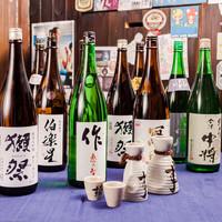 ★日本酒50種類以上ご用意★