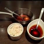 竃 円山 - 料理写真:山わさびと赤ワインソース
