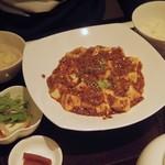 58998314 - ランチの麻婆豆腐