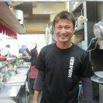 一生懸麺 とっかりⅡ - 店主(画像掲載許諾済み)