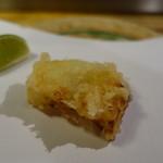 天ぷら 松 - 玉ねぎの天ぷら
