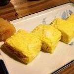 あて 煮込 肴 - 出汁巻卵