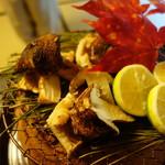 美山荘 - 松茸