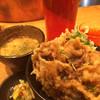 本町製麺所 天 - 料理写真:牛はらみ天丼