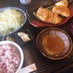 とんかつ浜勝 - 料理写真:ヒレかつとチキンかつランチ(790円+消費税)
