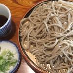 刀屋 - もりそば・中(650円)