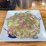 えぞっ子ラーメン - 皿うどん太麺680円です。