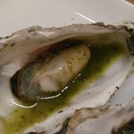 かき焼き はじめ - [料理] 焼き牡蠣『バジル』アップ♪w