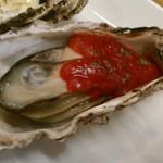 かき焼き はじめ - [料理] 焼き牡蠣『トマトソース』アップ♪w