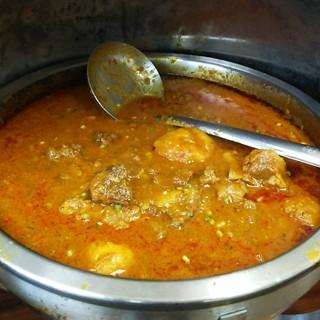 ザイカ・カレーハウス - 料理写真:マトンとジャガイモのカレー